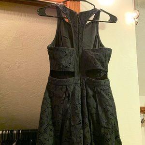 Lulus Black Lace Party Dress